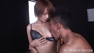 Rika Hoshimi naughty Asian milf gets multiple cumshots