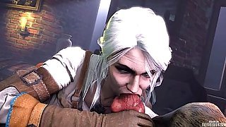 The Witcher - Ciri gif Collection 3