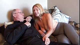 old man fuck his young wife