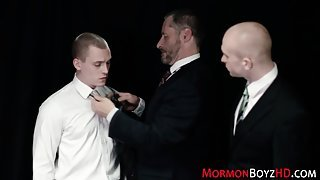 Mormons anally punished