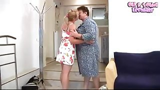 Hot buxomy youthful harlot performing in incredible masturantion