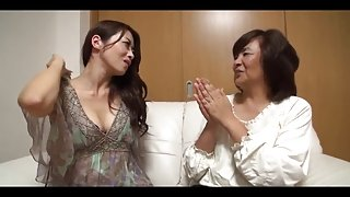 34yr old Maki Houjo Picks Up two Matures vol two (Uncensored)