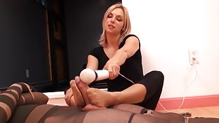 Pantyhose Person Tied