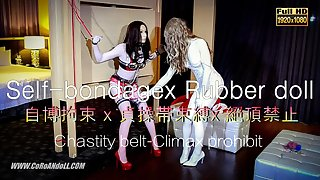 Chastity belt Self-bondage